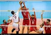 والیبال قهرمانی آسیا - ایران و قطر