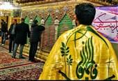 عزاداری رزمندگان فاطمیون در حرم حضرت رقیه(ع)+فیلم