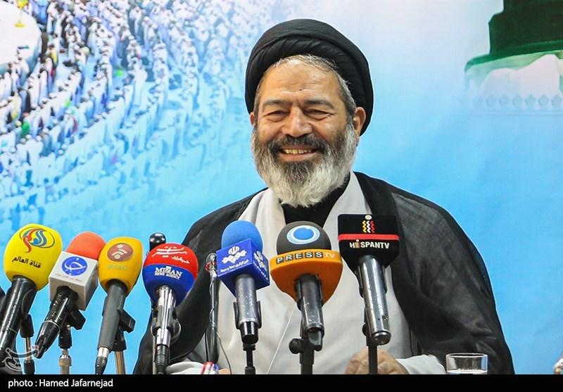 نشست خبری حجت الاسلام سیدعبدالفتاح نواب نماینده ولی فقیه درامورحج وزیارت و سرپرست حجاج ایرانی