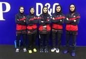 تنیس روی میز قهرمانی آسیا  یازدهمی تیم بانوان ایران با یک رتبه صعود نسبت به دوره قبل