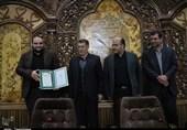 آئین تکریم و معارفه مسئول بسیج رسانه آذربایجانشرقی به روایت تصویر