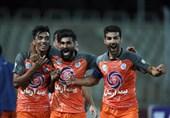 لیگ برتر فوتبال  پیروزی سایپا مقابل نساجی در دیداری که 7 گل داشت