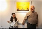 هنرنمایی هنرمندان اُتیسم در نمایشگاه نقاشی «دستهای آبی»+عکس