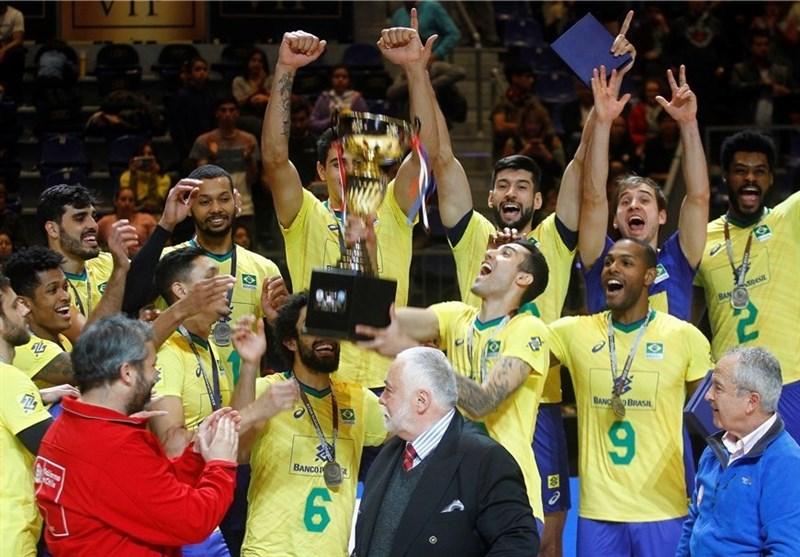 تیم ملی والیبال برزیل، قهرمان آمریکای جنوبی شد/ شیلی بعد از 26 سال به مدال رسید