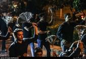 برپایی دسته عزاداری جامعه سیاوشانیها در شب هفتم شهادت امامحسین(ع)