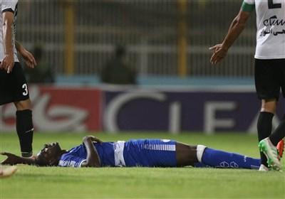 Esteghlal Striker Diabaté Sidelined for One Month - Sports news