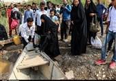 اهواز| وعدهای که عملی نشد؛ اهالی دهستان عنافچه همچنان از مشکلات پل شناور رنج میبرند