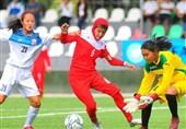 تورنمنت فوتبال زیر 15 سال دختران کافا| ایران با شکست میزبان به مقام قهرمانی رسید