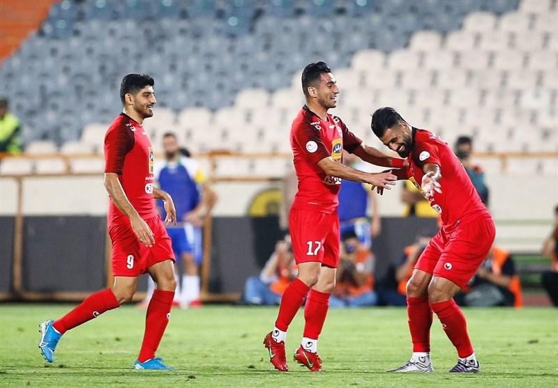 لیگ برتر فوتبال| پرسپولیس با شکست صنعت نفت به استقبال دربی 90 رفت/ امتیاز 6 با شماره 6