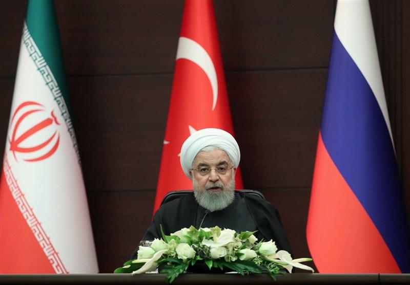 روحانی: آمریکا به فکر تجزیه سوریه است و این برای هیچ کشوری قابل قبول نیست