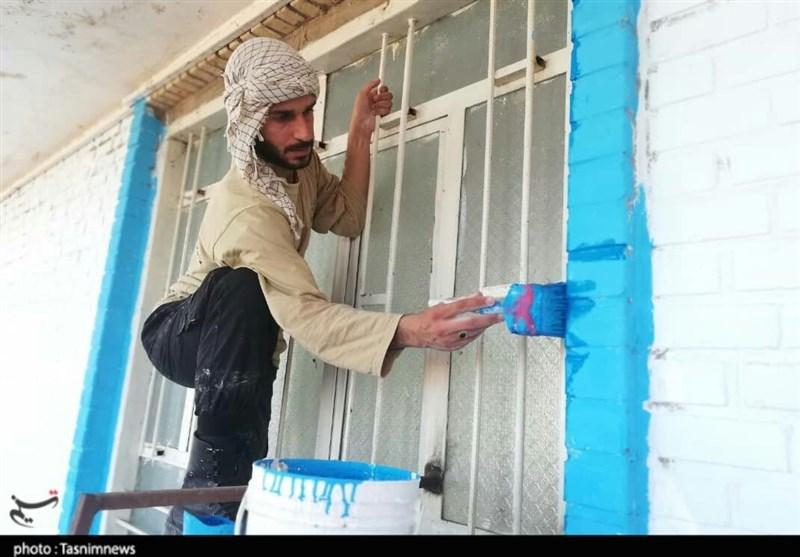 خوزستان| خدمت خالصانه جهادی بیش از 300 دانشآموز شهرستان دزفول به روایت تصویر