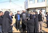حضور سرزده امام جمعه همدان در میان مردم منطقه محروم اسلامشهر