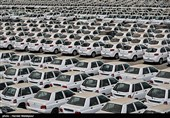 انبار خودروهای دپو شده سایپا در بزرگراه فتح
