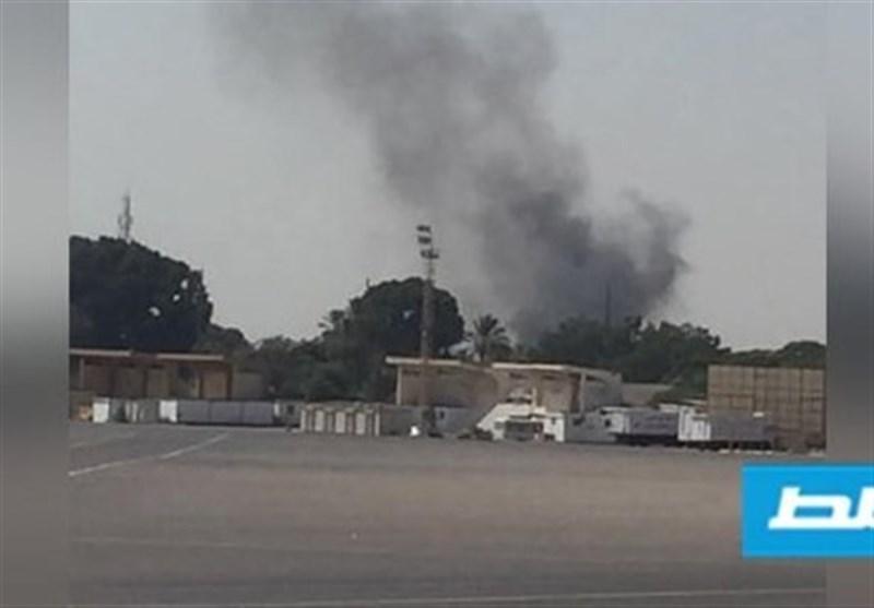 لیبی|حمله جنگندههای حفتر به فرودگاه طرابلس