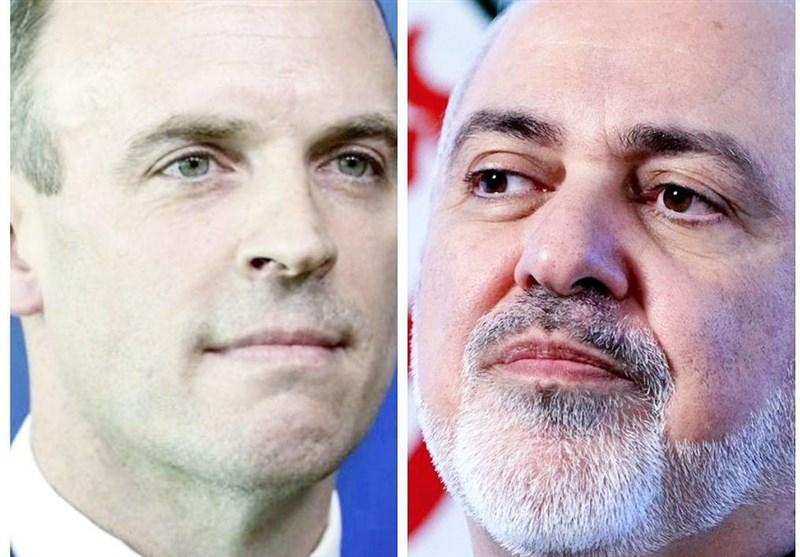 گفتگوی تلفنی ظریف و وزیر خارجه انگلیس