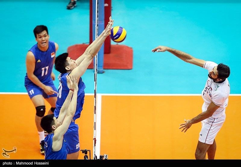 Iran Ends China's Unbeaten Run at Asian Volleyball Championship