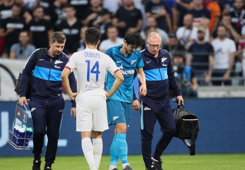 Azmoun Injury