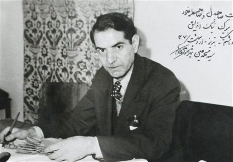 شعرخوانی استاد شهریار در رثای اباعبدالله الحسین (ع)+فیلم
