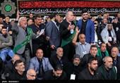 مرثیهخوانی موکبداران عراقی در محضر رهبر انقلاب