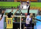 والیبال قهرمانی آسیا  چین تایپه به سختی پاکستان را شکست داد