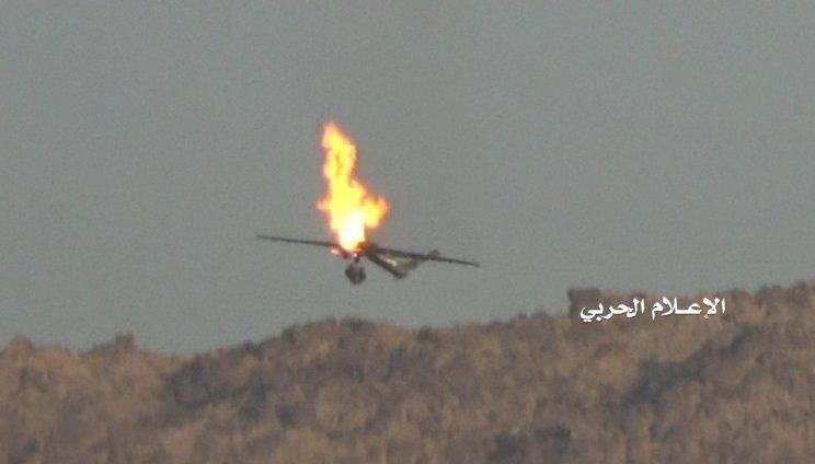 الیمن.. إسقاط طائرة تجسسیة للعدوان بمحافظة تعز