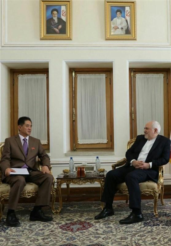 دیدار سفرای کره شمالی و سوئد در تهران با ظریف