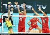 والیبال قهرمانی آسیا - ایران و هند