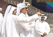 بازدید امیر قطر از ورزشگاه خلیفه و آکادمی اسپایر + عکس
