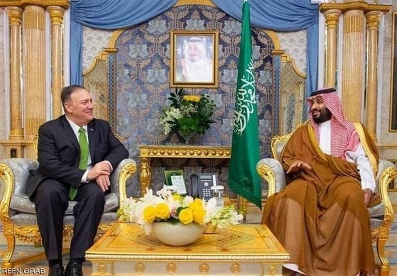 دیدار وزیر خارجه آمریکا با بنسلمان با محوریت حمله به آرامکو