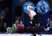 وزنهبرداری قهرمانی آسیا| اولین نماینده بانوان ایران در گروه B اوت کرد