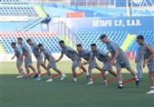 آخرین تمرین یاران حسینی در ختافه برای نخستین بازی مرحله گروهی لیگ اروپا