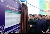 686 طرح عمرانی و خدماتی با حضور فرمانده سپاه در خراسان شمالی افتتاح شد + تصاویر