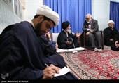 دیدار سیدمرتضی بختیاری رئیس کمیته امداد امام خمینی(ره) با آیت الله علوی گرگانی