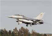 F-16 Fighter Jet Crash Leaves Pilot Dangling from High-Voltage Electricity Line in France