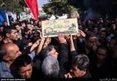 تشییع دو شهید تفحص شده دفاع مقدس در تهران+عکس و فیلم