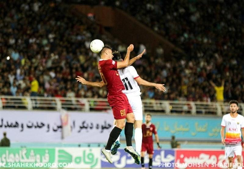 لیگ برتر فوتبال| تساوی یک نیمهای شهر خودرو و فولاد