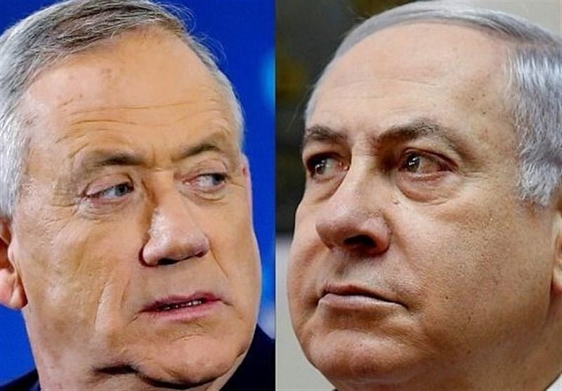 اسرائیل|پیش بینی شکست نتانیاهو در تشکیل دولت؛ حربه «آبی سفید» برای پیروزی «گانتس»