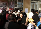 خراسان جنوبی| لبخند رضایت مردم محروم کویر از کاروان نذر آب