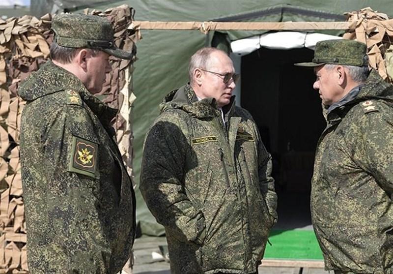 """بازدید پوتین از مرحله فعال مانور نظامی """"سنتر-2019"""""""