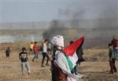 صہیونی فوج کی فائرنگ سےایک فلسطینی شہید درجنوں شدید زخمی