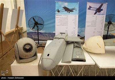 لاشه پهپاد انگلیسی فونیکس و پهپاد آمریکایی RQ-7