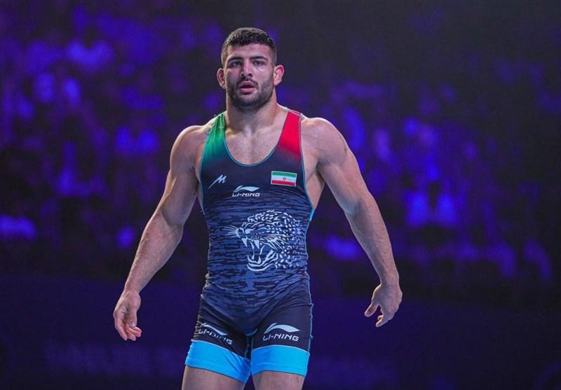 World Wrestling C'ships: Iran's Karimi Takes Silver