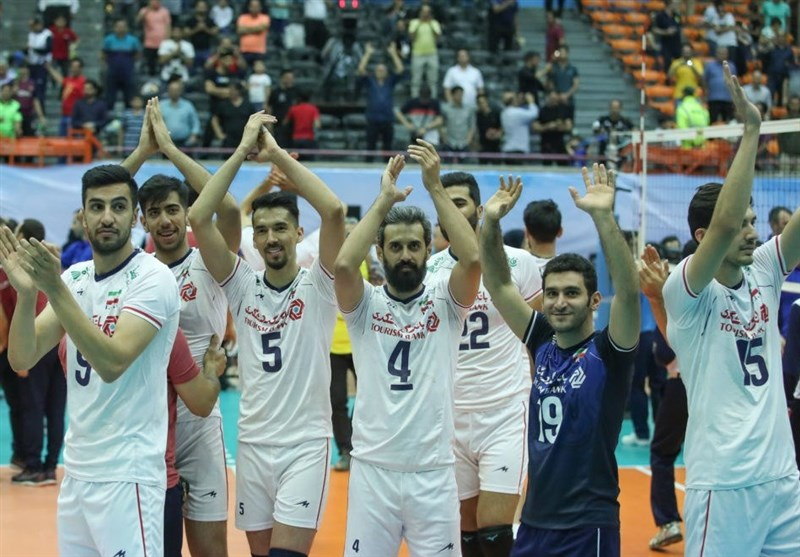 Iran Sweeps Past Australia to Win Asian Volleyball Championship