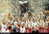 قهرمانی ایران در مسابقات والیبال قهرمانی آسیا