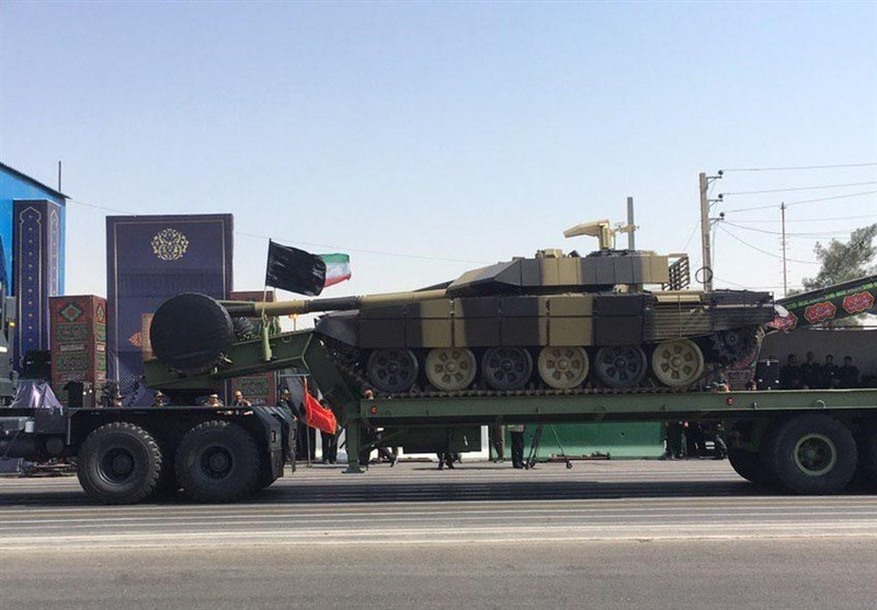 Iran's Army Unveils New Tank Transporter