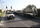 مراسم رژه نیروهای مسلح هفته دفاع مقدس در استان زنجان برگزار شد+ تصاویر
