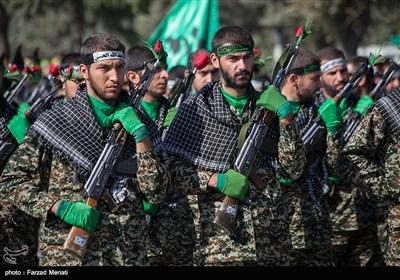 مراسم رژه نیروهای مسلح در کرمانشاه