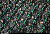 استعراض عسكري في أرجاء ایران بمناسبة اسبوع الدفاع المقدس