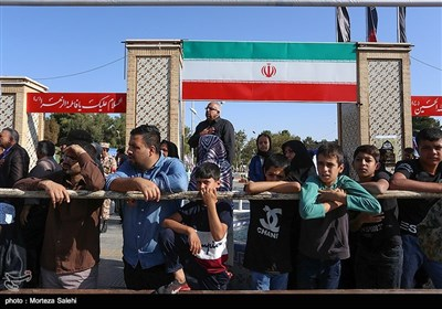مراسم رژه نیروهای مسلح در اصفهان