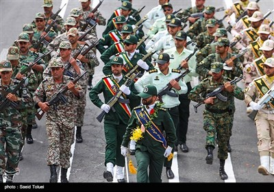 مراسم رژه نیروهای مسلح در خراسان شمالی